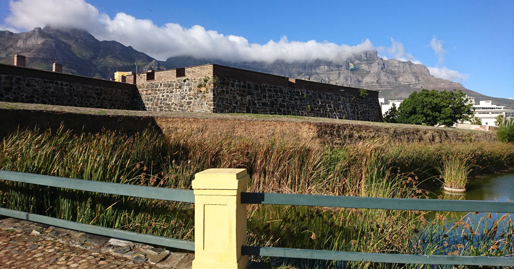 The Castle Of Good Hope with majestic Table Mountain in the background.